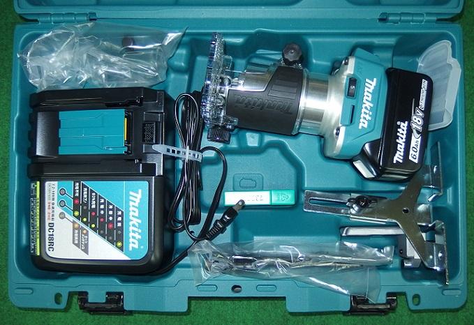 マキタ 18V 防塵対応充電式トリマ RT50DRG 新品
