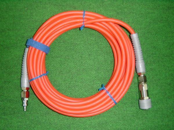 マッハ NHSP-610 ロック一発カプラ付高圧用スムージーホース φ6X10m 新品 NHSP610 フジマック