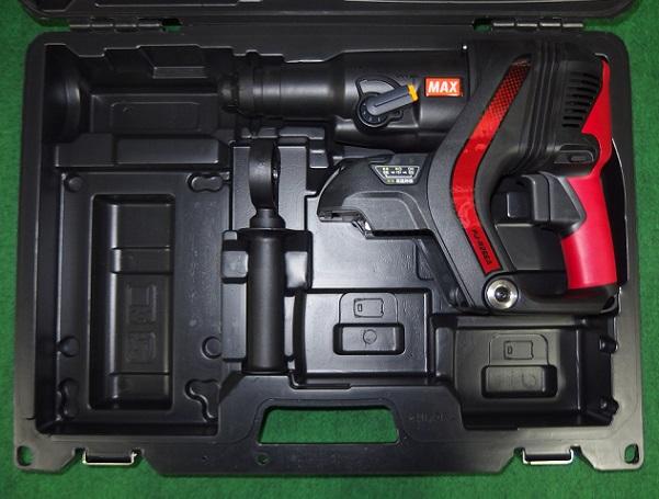 マックス PJ-R266A 25.2V充電式 低振動ハンマドリル 本体+ケ-ス 電池パック・充電器別売 新品 PJ R266A MAX