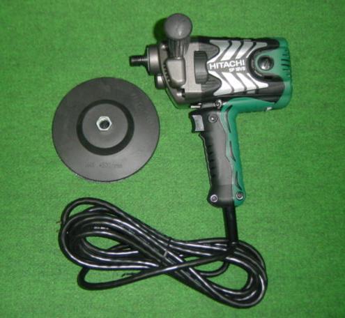 HiKOKI SP18VB 電子ポリッシャ パット径180mm/150mm 150mmパット標準付属 単相100V 新品 日立 ハイコ-キ