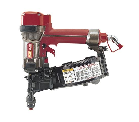 非売品 MAX:プロショップE-道具館店 HN65CS マックス 新品 サイデイング用高圧釘打機 HN-65CS-DIY・工具