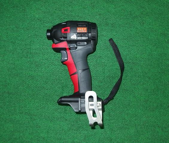 マックス PJ-ID152R 18V/14.4V兼用ブラシレスインパクトドライバ バッテリ・充電器別売 赤 新品