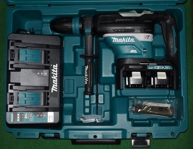 マキタ HR400DPG2 18Vx2=36V 40mmSDS-MAX・AVT充電式ハンマドリル 新品