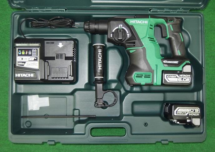 HiKOKI DH14DBL(2YPK) 14.4V-6.0Ah SDS-BLハンマドリル 新品 DH14DBL 2LYPK ハイコ-キ 日立工機