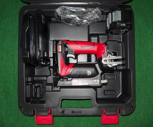 マックス TG-Z4-BC/1850A 18V-5.0Ah MT線用充電式タッカ 新品
