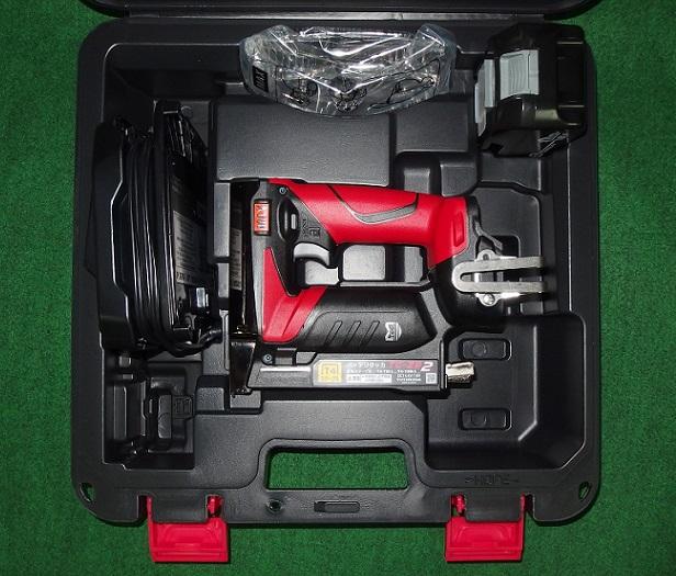 マックス TG-ZB2-BC/1850A 18V-5.0Ah RT線用充電式タッカ 新品