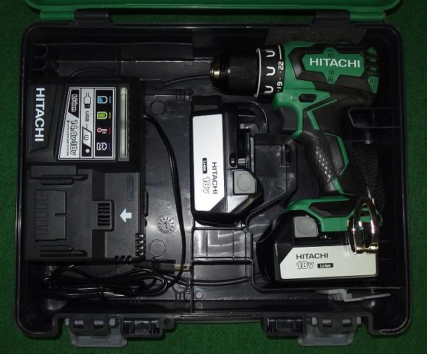 HiKOKI DS18DBSL(2LSCK) 18V-3.0Ahブラシレスドライバドリル 新品 DS18DBSL 2LSCK ハイコ-キ 日立工機