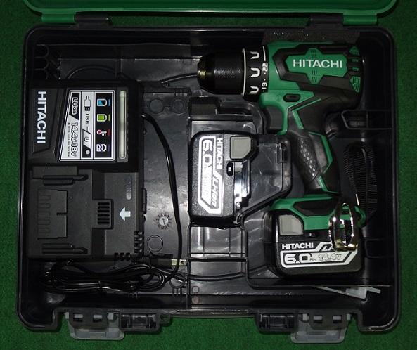 HiKOKI DS14DBSL(2LYPK) 14.4V-6.0Ahブラシレスドライバドリル 新品 DS14DBSL 2LYPK ハイコ-キ 日立工機