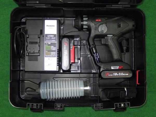 パナソニック EZ78A1PN2G-B 18V-3.0Ahデュアルハンマードリル 黒 軽量電池搭載モデル 新品