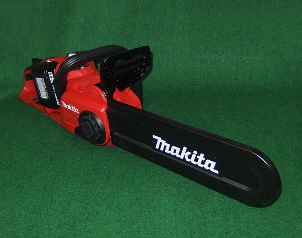 送料無料 マキタ MUC400DGFR 18Vx2=36V 350mm充電式チェーンソー レッドボデイ 25APチェ-ン刃付 6.0Ah 新品