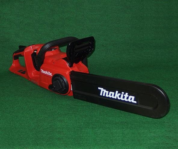マキタ MUC400DZFR 18Vx2=36V 400mm充電式チェーンソー レッドボデイ 25APチェ-ン刃付 バッテリ・充電器別売 新品