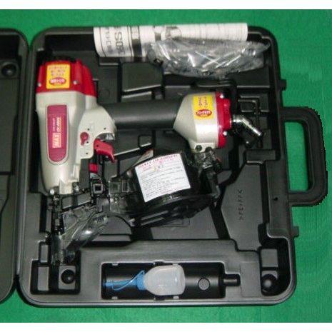 マックス CN-450AD(FP) 50mm常圧釘打機 ワイヤ-連結釘専用タイプ アジャスタ機構・フリ-プラグ付 新品 CN450 AD FP MAX
