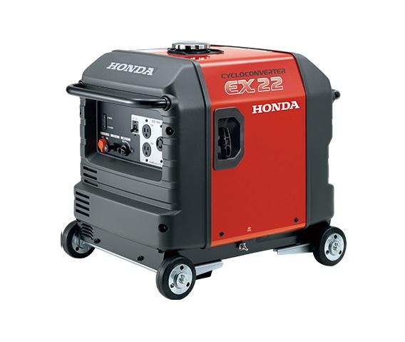 ホンダ EX22 JNA2 サイクロコンバ-タ-搭載発電機 車輪なし 新品 一部地域発送不可 代引不可