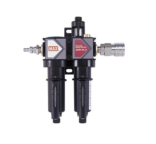 マックス ACH-FL2 ス-パ-エア・2点エアセット カプラ・プラグ付 高圧用 新品