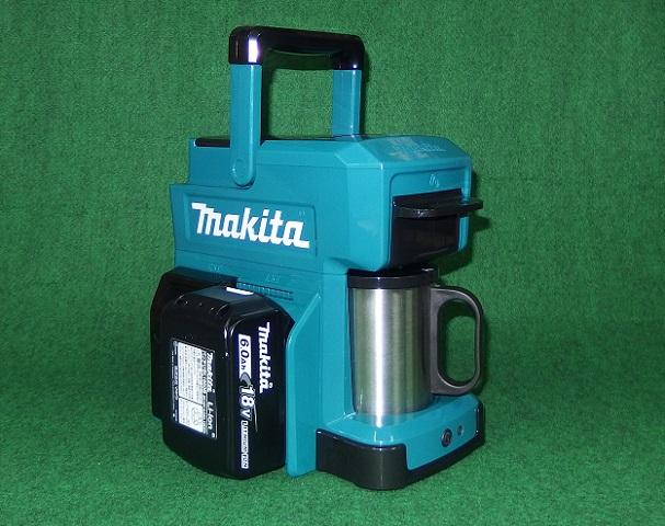 マキタ CM501DZ+BL1860B+DC18SD 充電式コーヒーメーカー 青 18Vバッテリ 充電器セット 新品