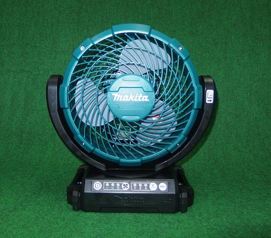 マキタ CF102DZ+BL1830B+DC18SD 14.4V/18Vリチウムイオンバッテリ対応 自動首振り機能付充電式ファン  バッテリ・充電器付セット 新品 扇風機