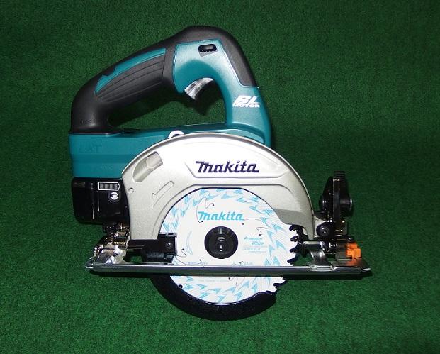 マキタ HS470DGS 14.4V-6.0Ah-125mm充電式ブラシレスマルノコ サメ肌チップソ-付 青 新品