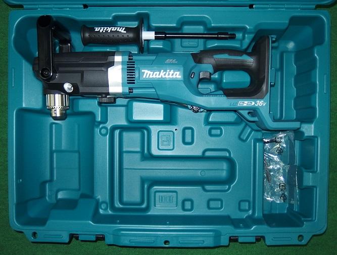 マキタ DA460DZK 18Vx2=36V 13mm充電式アングルドリル 本体+ケース バッテリ・充電器別売 新品