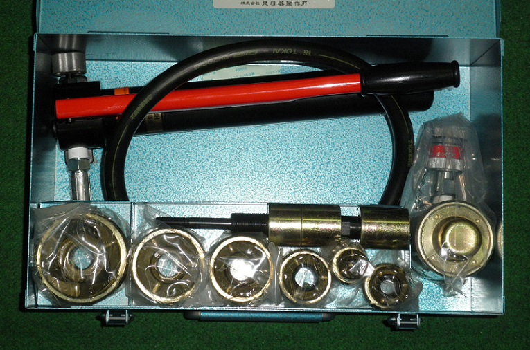 泉精器 SH-10-1(B)P 油圧式パンチャ 厚鋼2インチセット ポンプ付 新品 SH-10-1 B P