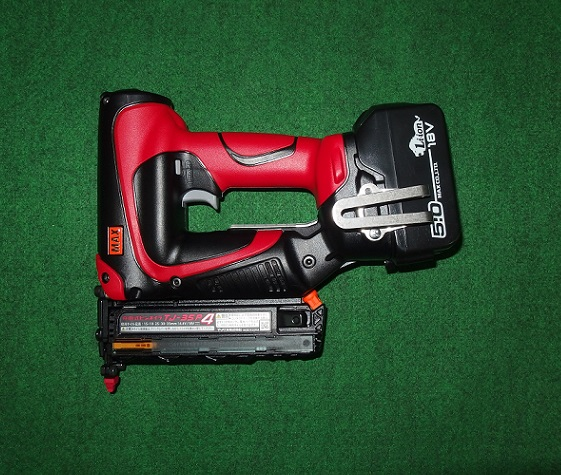 マックス TJ-35P4-B/1850A 18V充電式ピンネイラ 本体・5.0Ah電池パック・ケ-スセット 新品 TJ 35P4 MAX