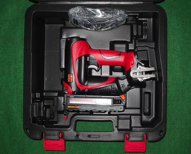 マックス TJ-35P4 18V充電式ピンネイラ 本体+プラスチックケ-ス バッテリ・充電器別売 新品 TJ35P4 MAX【プロ用からDIY、園芸まで。道具・工具のことならプロショップe-道具館におまかせ!】