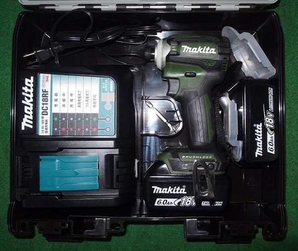 マキタ TD171DRGXAG 18V-6.0Ah ブラシレスインパクトドライバ オ-センテイックグリ-ン 限定色 新品 TD171DGXAG
