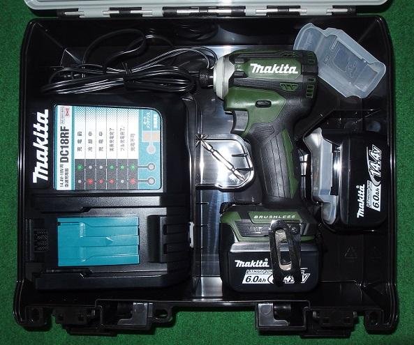 マキタ TD161DRGXAG 14.4V-6.0Ah ブラシレスインパクトドライバ オ-センテイックグリ-ン 限定色 新品 TD161DGXAG