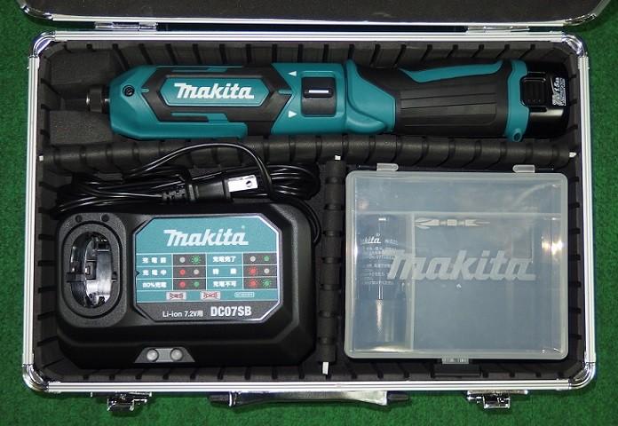 マキタ TD022DSHX 7.2V充電式ペンパクトドライバ 予備電池付 青 新品