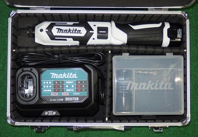 マキタ TD022DSHXW 7.2V充電式ペンインパクトドライバ 予備電池付 白 新品