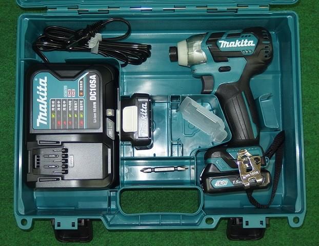 マキタ TD111DSHX 10.8V-1.5Ah ブラシレスインパクトドライバ スライドバッテリ式 青 新品