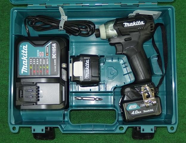 マキタ TD111DSMXB 10.8V-4.0Ah ブラシレスインパクトドライバ スライドバッテリ式 黒 新品