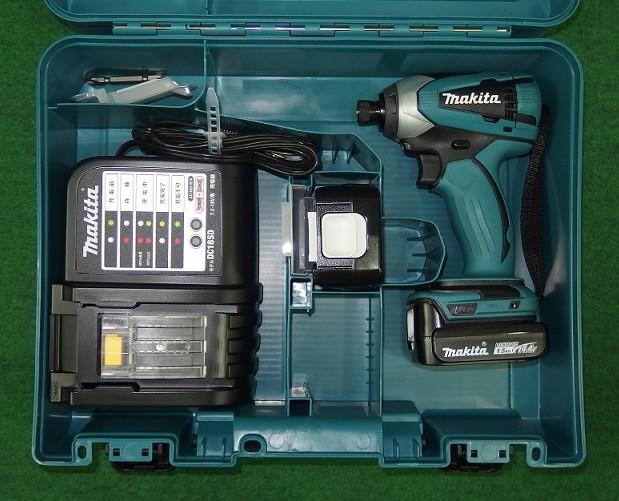 マキタ TD134DSHX 14.4V-1.5Ah軽量インパクトドライバー 新品