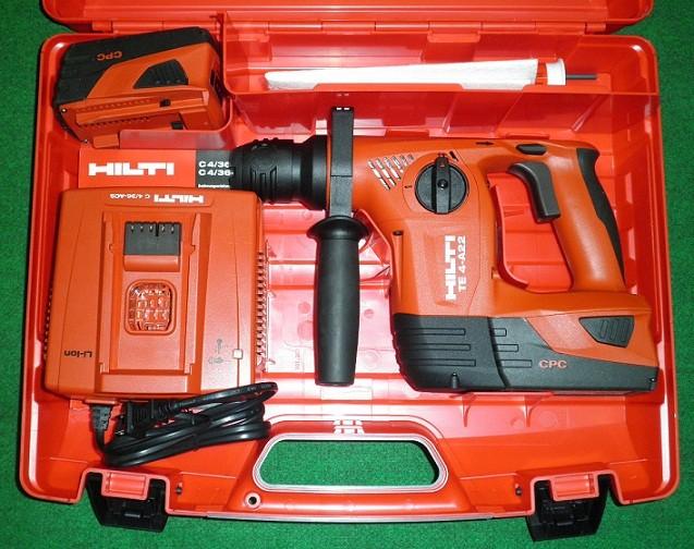 HILTI ヒルテイ 充電式ハンマードリル TE4-A22 P2/5.2Ah コンボ 新品