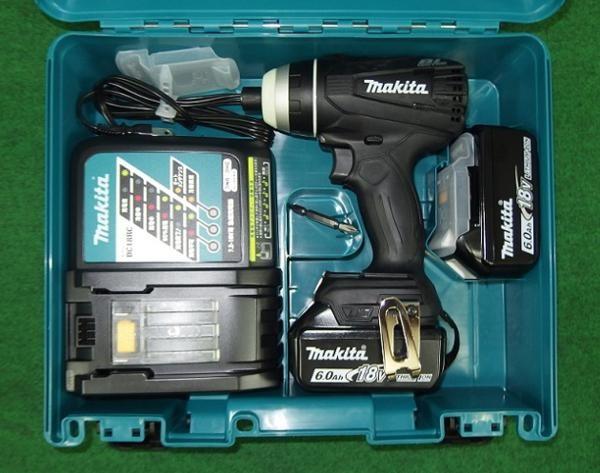 マキタ TP141DRGXB 18V-6.0Ah 4モードインパクトドライバ 黒 新品