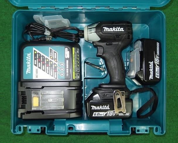 マキタ TS141DRGXB 18V-6.0Ah ソフトインパクトドライバ 低騒音 黒 新品