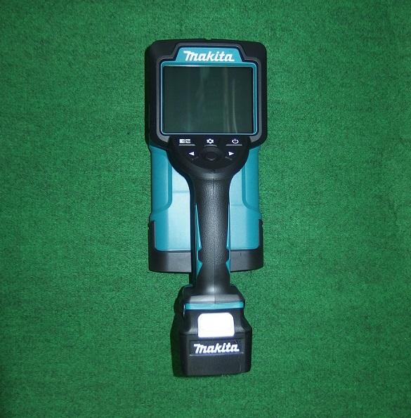 マキタ WD180DZK+ADP09 10.8V充電式ウオ-ルデイテクタ+単三形電池パック付セット 電池別売 最大探知深さ180mm コンクリ-ト探知機 新品