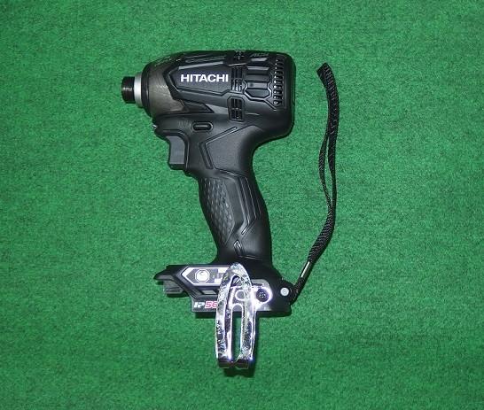 Hi-KOKI WH14DDL2(NN)B 14.4V防塵耐水BLインパクト ストロングブラック 本体のみ バッテリ・充電器別売 新品 WH14DDL2 NN B 日立
