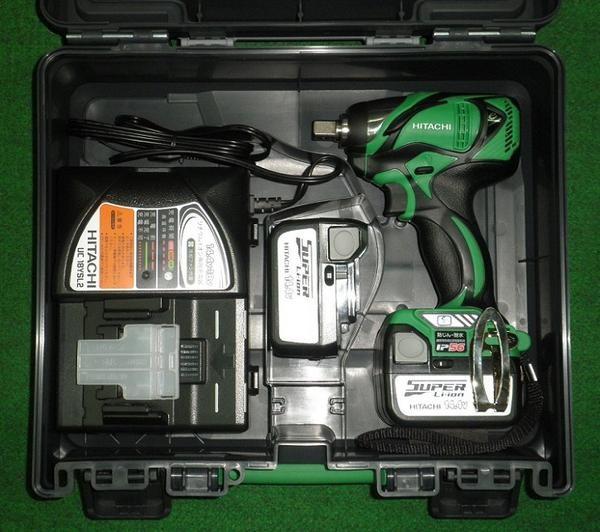 HiKOKI WR14DBAL2(2LSCK) 14.4V防塵耐水BLインパクトレンチ 緑 新品 WR14DBAL2 2LSCK ハイコ-キ 日立工機