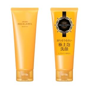 资生堂Aqua标签丰润泡清洗面孔形式110g(清洗面孔形式)