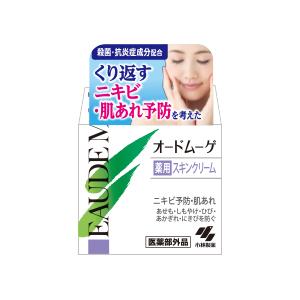 小林制药EAUDE MUGE odomuge有药效皮肤奶油40g非正规医药品