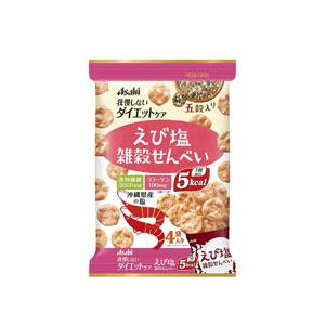 【お取り寄せ商品】 アサヒグループ食品 リセットボディ 雑穀せんべい えび塩 88g(22g×4袋)