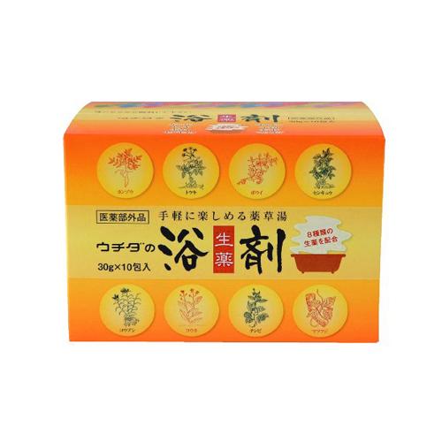 ウチダ和漢薬 ウチダの浴剤 30g×10包入×12個(1ケース) 医薬部外品 【送料無料】