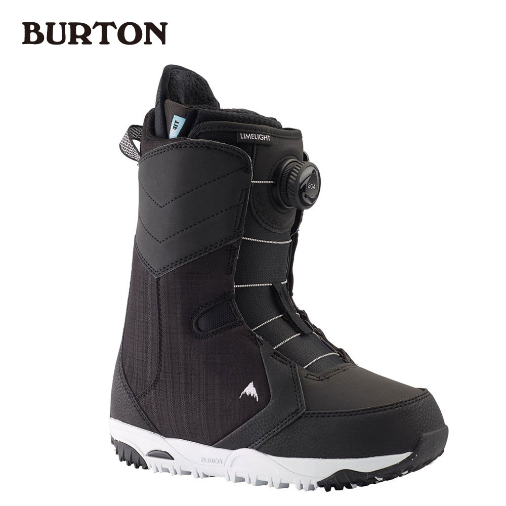 バートン Women's Burton Limelight Boa(R) Wide Snowboard Boot 215351 Black