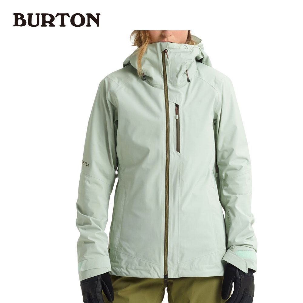 バートン エーケー Women's Burton [ak] GORE-TEX Upshift Jacket 212821 Aqua Gray