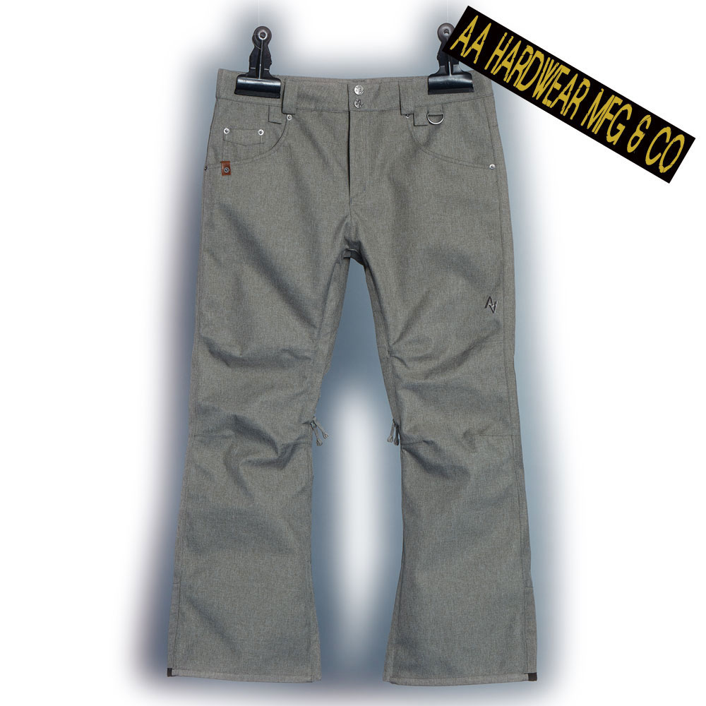 ダブルエー BUZZ PANTS 721-193-32 HEATHER GRAY メンズ AA HARDWEAR