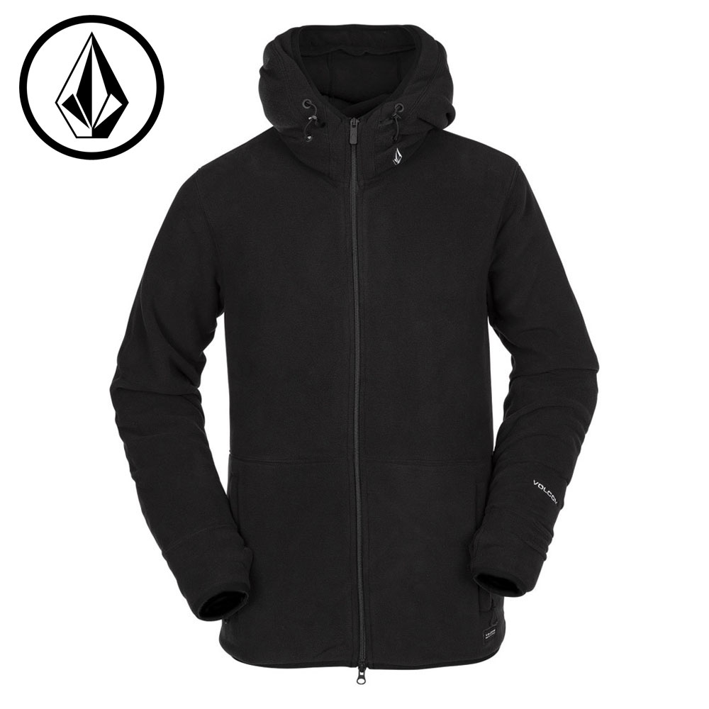 ボルコム POLARTEC(R) FLEECE G2452012 BLK(Black) メンズ VOLCOM