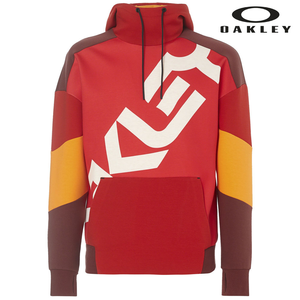 オークリー Ye Olde Dwr Hoodie 461777 43A(High Risk Red) メンズ Oakley