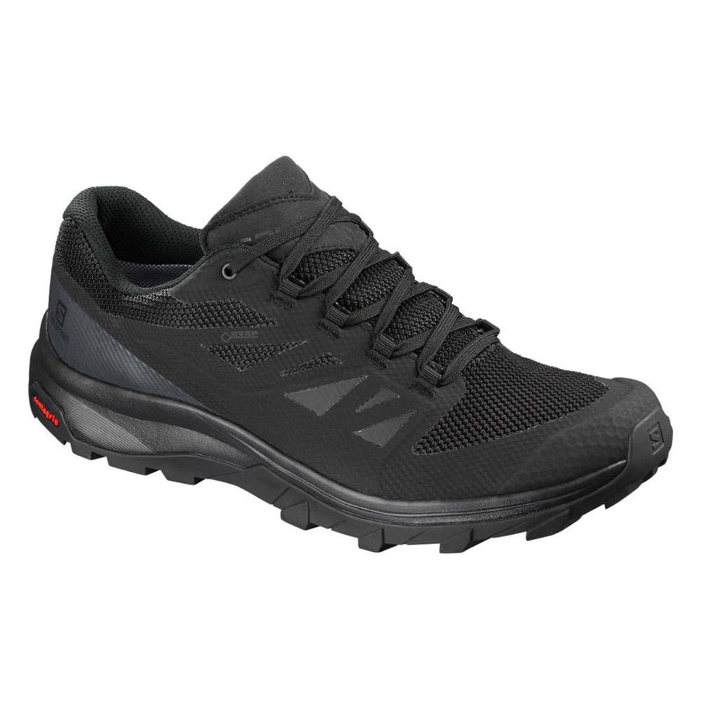 サロモン OUTline GORE-TEX(R) L40477000 Black/Phantom/Magnet メンズ SALOMON