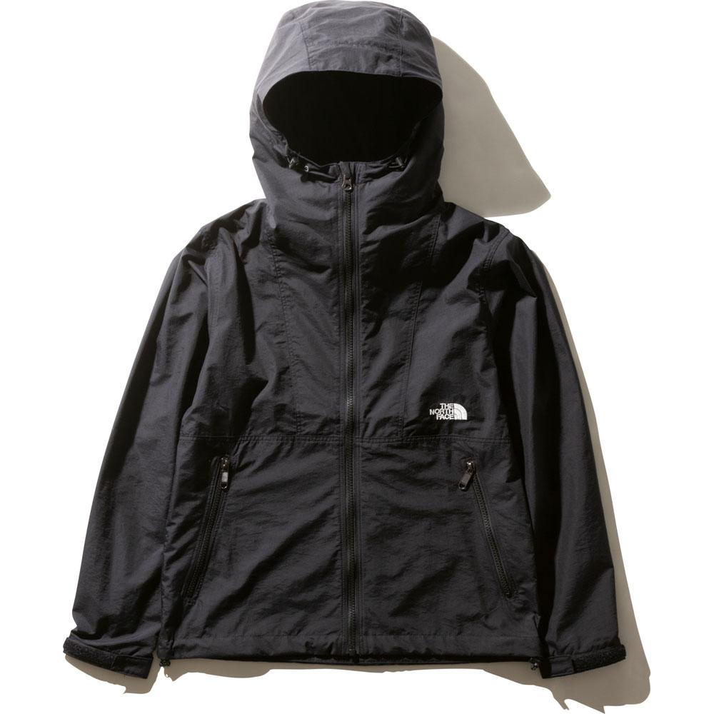 ザ・ノース・フェイス コンパクトジャケット NPW71830 (K)ブラック レディース THE NORTH FACE Compact Jacket