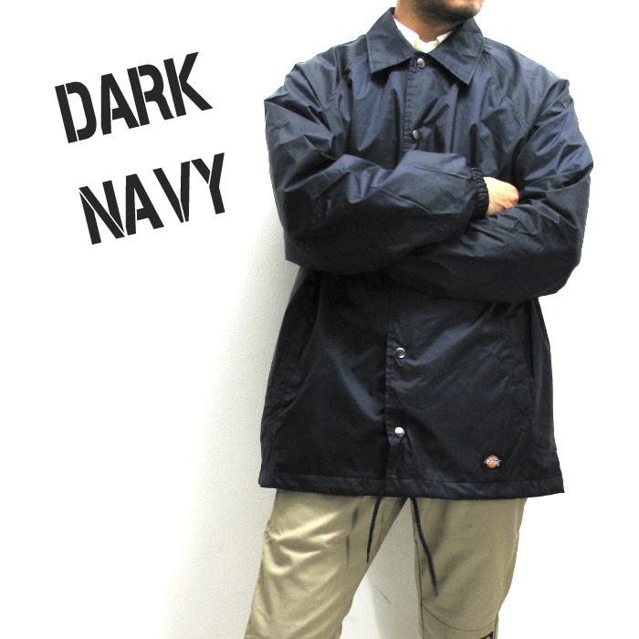 Dickies Mens Snap Front Nylon Jacket